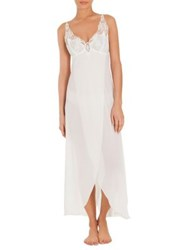 Jonquil Mist Chiffon Nightgown And Thong Ivory