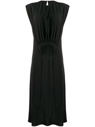 Victoria Beckham Gathered Bib Dress 60