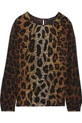 Tom Ford Woman Silk Georgette Blouse Light Brown