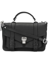 Proenza Schouler Medium Ps1 Satchel Black