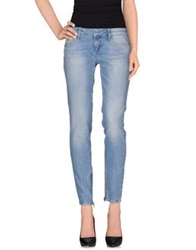 Liu Jeans Denim Pants Blue