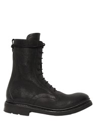 The Last Conspiracy 30Mm Leather Lace Up Boots