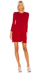 A.L.C. Hadley Dress In Red. Apple Red