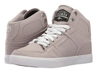 Osiris Nyc83 Vlc Dcn Grey White Silver Men's Skate Shoes Gray