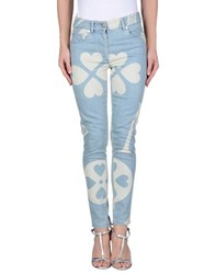 Moschino Couture Denim Denim Trousers Women Blue
