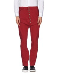 Prever Trousers Casual Trousers Men Maroon
