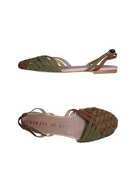 Acrobats Of God Sandals Brown