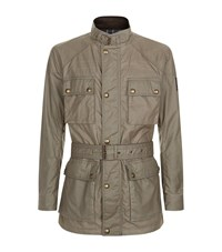 Belstaff Roadmaster Belted Jacket Male Grey