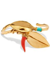 Aurelie Bidermann Monteroso Gold Plated Resin Bracelet