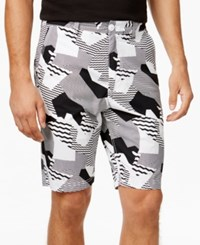 American Rag Men's Maurice Abstract Print Shorts Only At Macy's Bright White