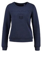 Gant Sweatshirt Marine Dark Blue