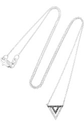 Khai Khai 18 Karat White Gold Diamond Necklace