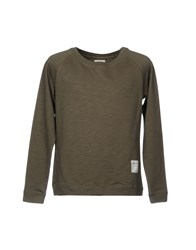 The Editor Sweatshirts Military Green