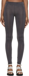 Maison Martin Margiela Grey Fluid Leggings
