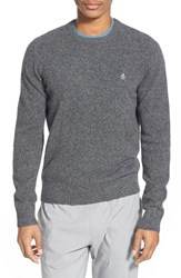 Men's Original Penguin Heritage Slim Fit Lambswool Crewneck Sweater Eiffel Tower