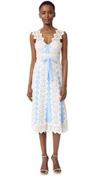 Catherine Deane Harper Dress Cream Bluebell
