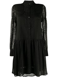 Lala Berlin Long Sleeve Embroidered Dress 60