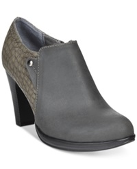 Rialto Phiona Platform Ankle Booties Women's Shoes Grey