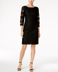Nine West Lace Sheath Dress Black