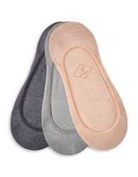 Sperry Rib Knit Shoe Liners Set Of 3 Beige