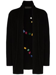 The Elder Statesman Game Board Italy Embroidered Cardigan 60