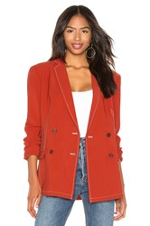Capulet Dylan Double Breasted Blazer Rust