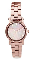 Michael Kors Petite Norie Watch Sable Rose Gold