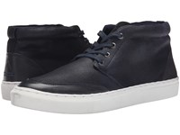 Eleven Paris Chuky Wax Navy Canvas Men's Shoes Blue