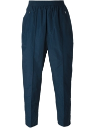 Wood Wood Tapered Trackpants Blue