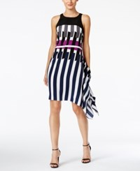 Alfani Printed Asymmetrical Dress Only At Macy's Geo Pieces