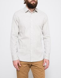 Wings Horns Herringbone Twill Button Up Sand
