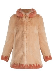 Shrimps Bobby Faux Fur Coat Nude