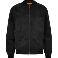 Only And Sons River Island Black Bomber Jacket