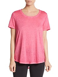 Andrew Marc New York Washed Jersey Top Watermelon