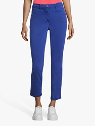 Betty Barclay Sally Cropped Jeans Adria Blue
