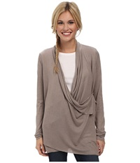 Royal Robbins Lindsey Wrap Cardi Light Taupe Women's Sweater