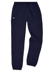 Lacoste Sweatpants In Solid Fleece Navy