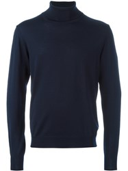Editions M.R Turtleneck Pullover Blue
