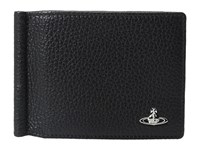Vivienne Westwood Milano Wallet W Money Clip Black Wallet Handbags