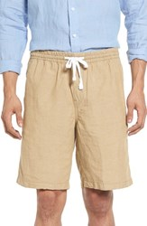 Nordstrom Men's Men's Shop Relaxed Fit Shorts Beige Rainy Day