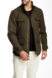 Shades Of Grey Military Jacket Green