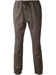Marc Jacobs Tailored Drawstring Trousers Grey