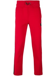 Hydrogen Two Tone Track Pants Red