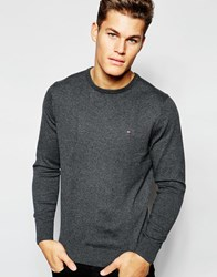 Tommy Hilfiger Jumper With Crew Neck Grey