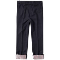 Thom Browne Boucle Wool Trouser Blue
