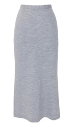 Tibi Wool Jersey Tube Skirt