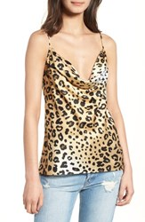 Kendall Kylie Leopard Print Camisole