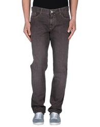 Trend Corneliani Denim Pants Cocoa