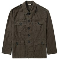Dries Van Noten Baez Military M 65 Jacket Brown