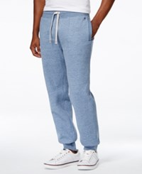 Tommy Hilfiger Men's Hancock Drawstring Sweatpants Fleet Blue Heather